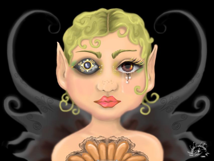 PunkSteam Fairy #art #steampunk #artwork #artist #fantasy #fairy #alysathena