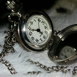 clock time silver numbers necklace
