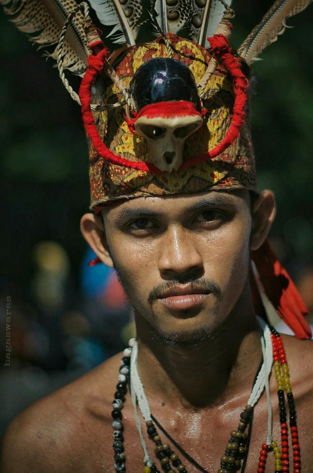 A Tribal Warrior (Borneo Man)  #portrait #street #people #photography