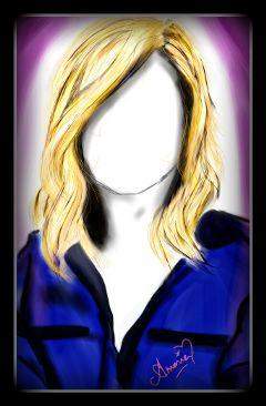 hair girl blonde short haircut freetoedit