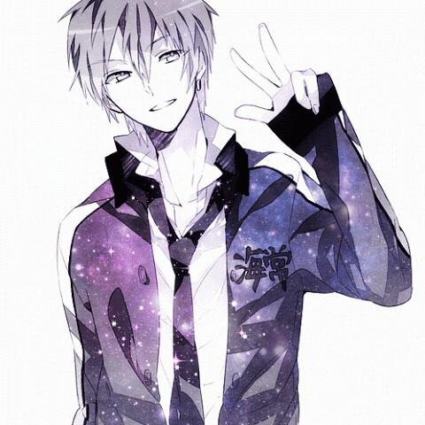 #anime #boy  #galaxy