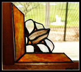 stainedglass flower myart myhobbies kitchenwindoe