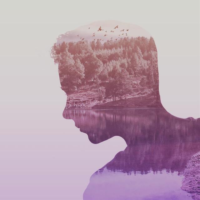 #silhouettestencil #madewithpicsart #doubleexposure #people #silhouette #purple #love #edited #birds #emotions #summer #spring  #hdr #holga #popart #photography #nature #art #artistic #artisticselfie