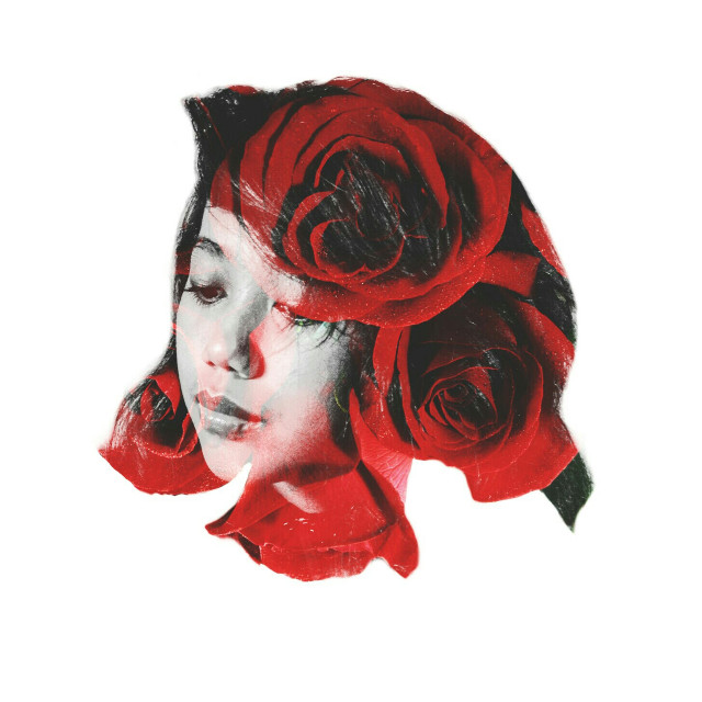 #Roses are red  #doubleexposure #art #photography