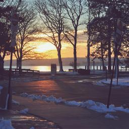 sunrise photography waterfront