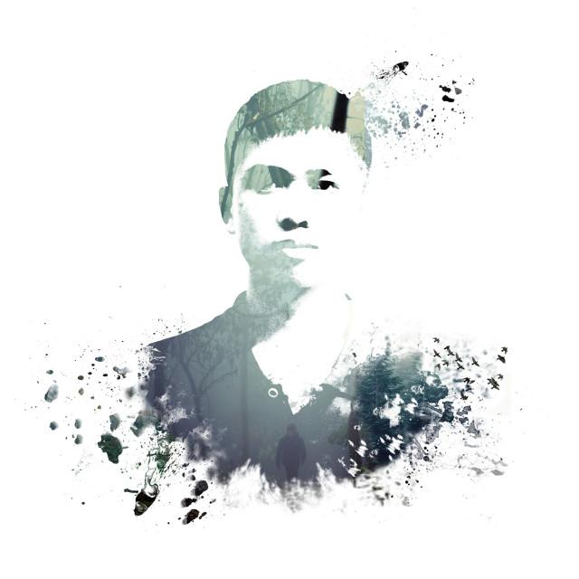#portrait #DoubleExposure  #photoshop #ColorSplash #me