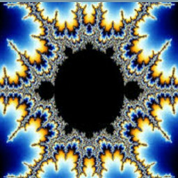 fractals undre the star colorful
