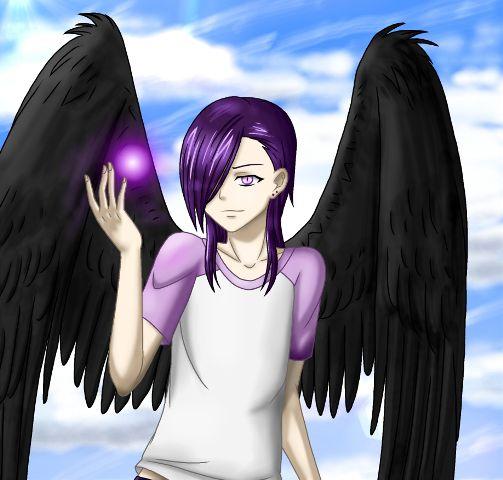 Anime Fanart Fallen Angel Lucifer Urushihara Hanzo Hataraku