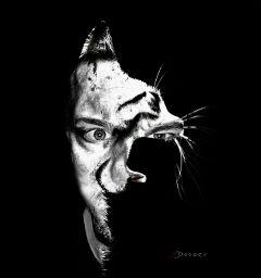 collage freetoedit artisticselfie doubleexposure animalshapemask waptwoinone wapanimalhybrid