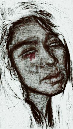 artisticselfie emotion pencilart