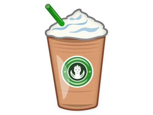 how to get a starbucks emoji