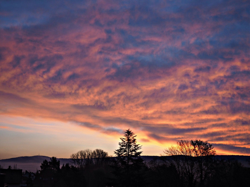 #sunrise #flames #edited #interesting #nature #clouds #landscape