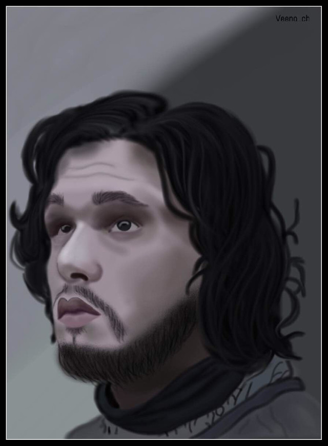 @swashygirl Here you go dear, as requested I drew John Snow for you... Hope you like it... #drawing #mydrawing #art #digitalart #digitaldrawing #jonsnow #potrait #draw