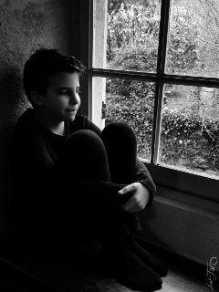 comfort chiaroscuro blackandwhite window