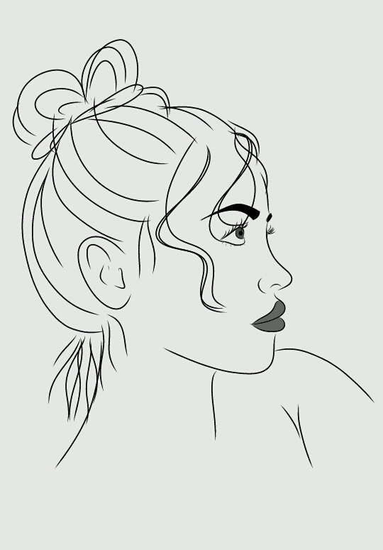 #FreeToEdit #tumblr #tumblroutlines #outlines #drawing