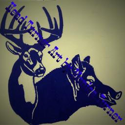 hoghunting deerhunting design hunting wildboar