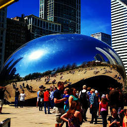 colorful chicago photography picsart dailyinsperation