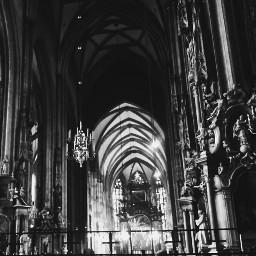 blackandwhite emotions photography bw europe cathedrale austria viena art travel love