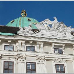 vienna wien austria hofburg detail