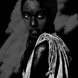 drawing sketch blackandwhite FreeToEdit