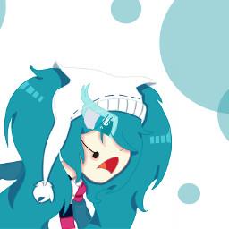 hatsunemiku 2016 snow_miku anime_style proud