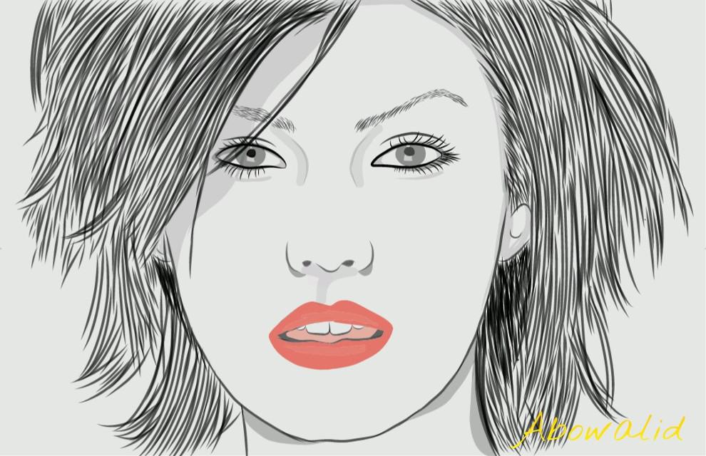 #art line #drawing #cute #beautiful