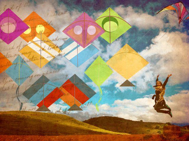 wapdreamvacation freedom spirit kites skies