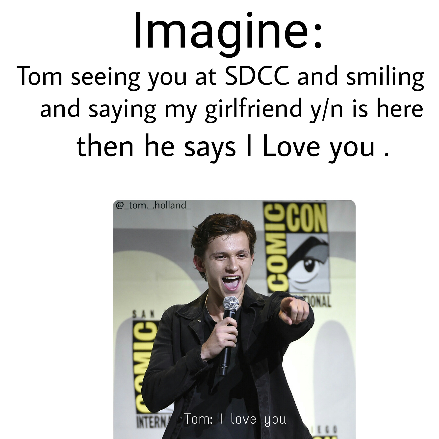 My first imagine💙 tomholland - Image by