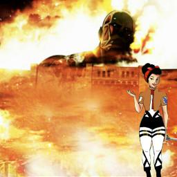 freetoedit mikasa shingekinokyojin shingeki anime