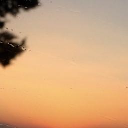 spectacular sunset freetoedit