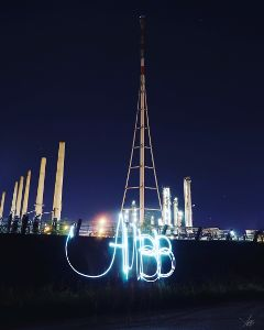 abbartpainting abb lightpainting night lights