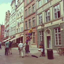 gdańsk tenements vintage gda