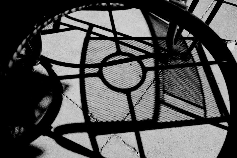 #blackandwhite #shadows #chair