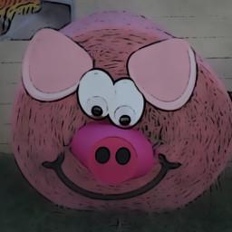 pig maskeffect zoomblureffect cartoonizer