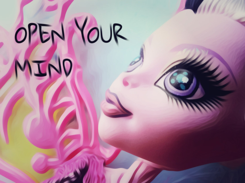 #openyourmind #colorful  #monsterhigh  #doll #free