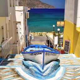 beach sea nature summer karpathos