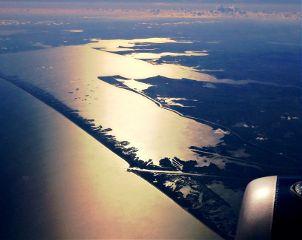 sky travel mexico fly sea