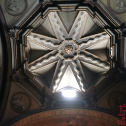 decoration church ceiling light architecture
