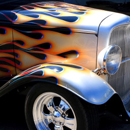 hotrod antiquecar colorful photography