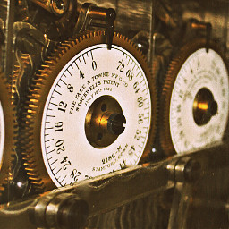 gears bankvault gold photography vintage