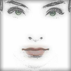 freetoedit blackandwhite lady lips smartblur