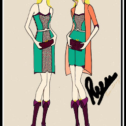 sketch drawing outfits fashion