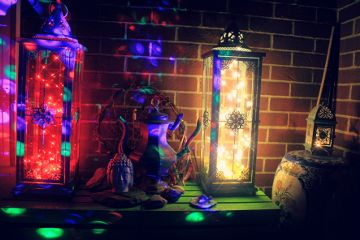 boho bohochic lanterns