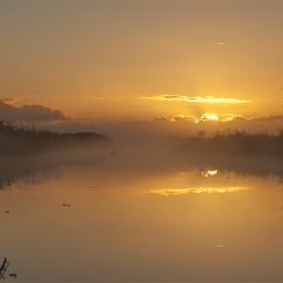netherlands morningglory sunrise misty foggy